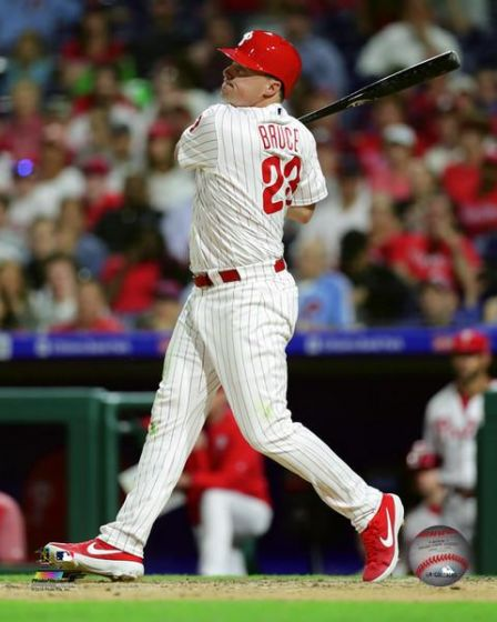 "Jay Bruce Philadelphia Phillies MLB Baseball 8"" x 10"" Photo"