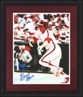 "Larry Bowa Philadelphia Phillies Bunt Autographed 8"" x 10"" Photo - Dynasty Sports & Framing"