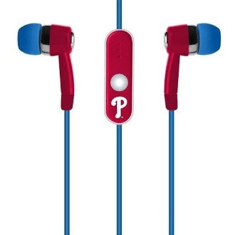 Philadelphia Phillies Hands Free Ear Buds with Microphone - Dynasty Sports & Framing