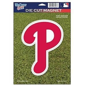 Philadelphia Phillies Die-Cut Magnet - Dynasty Sports & Framing