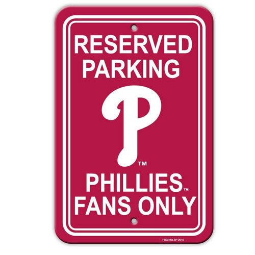 Philadelphia Phillies Parking Sign - Dynasty Sports & Framing