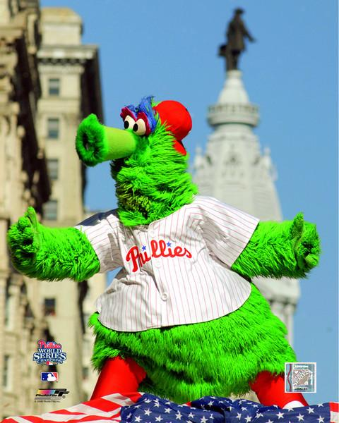 "Philadelphia Phillies Phanatic MLB Baseball 8"" x 10"" Mascot Photo"