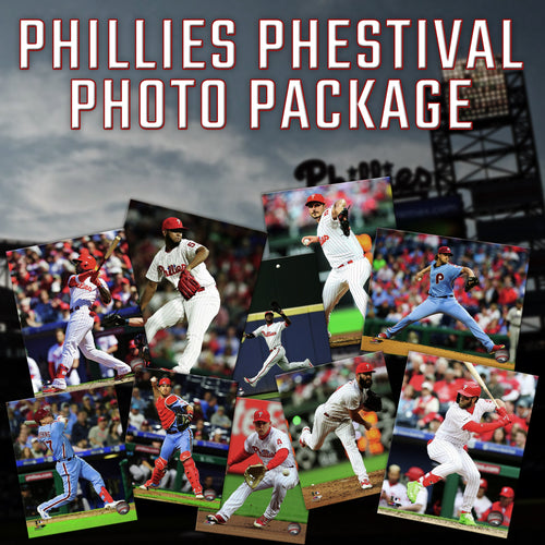 Philadelphia Phillies Phestival Photo Package Deal