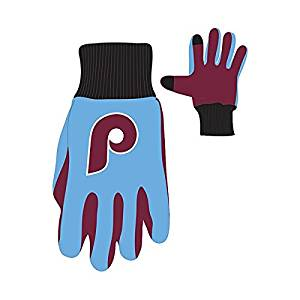Philadelphia Phillies Vintage MLB Baseball Texting Gloves