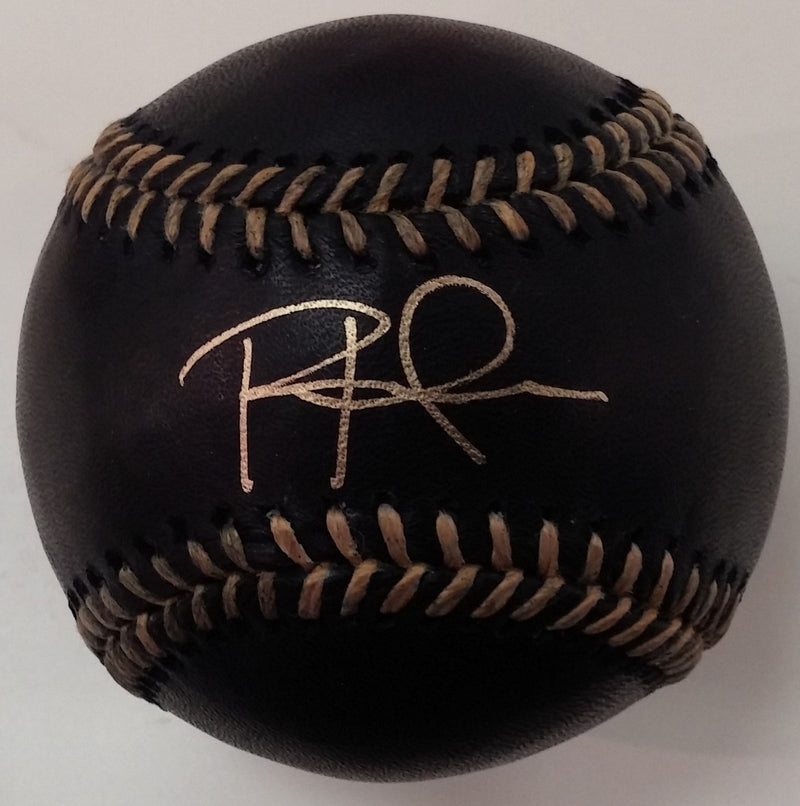 Philadelphia Phillies Rhys Hoskins Autographed Official Major League Baseball (Black)