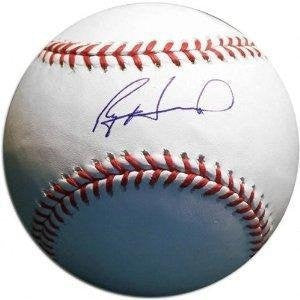 Philadelphia Phillies Ryan Howard Autographed Major League Baseball - Dynasty Sports & Framing