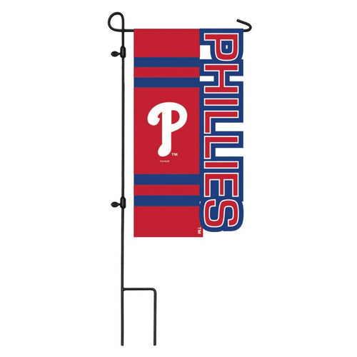 Philadelphia Phillies MLB Baseball Sculpted Applique Garden Flag