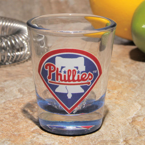 Philadelphia Phillies MLB Baseball Shot Glass - Dynasty Sports & Framing
