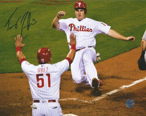Tommy Joseph Philadelphia Phillies Autographed Slide Photo - Dynasty Sports & Framing