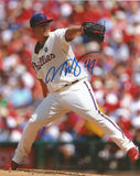 "Vance Worley Philadelphia Phillies Alternate Wind-Up 8"" x 10"" Autographed Photo - Dynasty Sports & Framing  - 1"