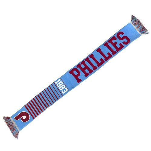 Philadelphia Phillies Vintage MLB Baseball Logo Scarf - Dynasty Sports & Framing