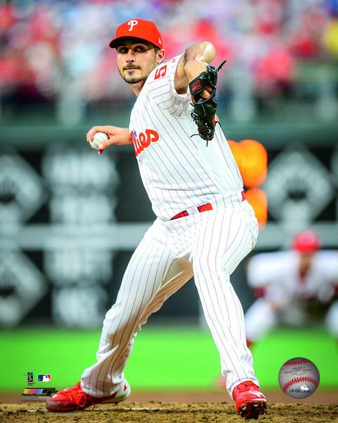 "Zach Eflin Philadelphia Phillies on the Mound MLB Baseball 8"" x 10"" Photo - Dynasty Sports & Framing"