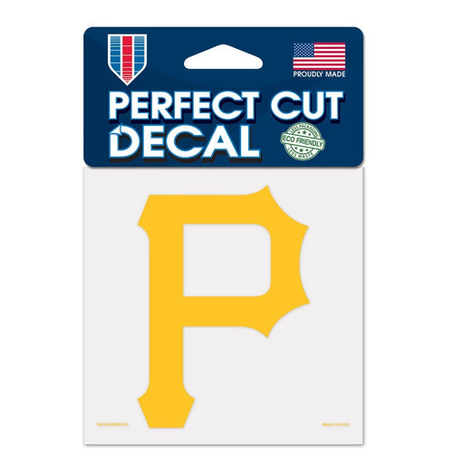 "Pittsburgh Pirates MLB Baseball 4"" x 4"" Decal - Dynasty Sports & Framing"