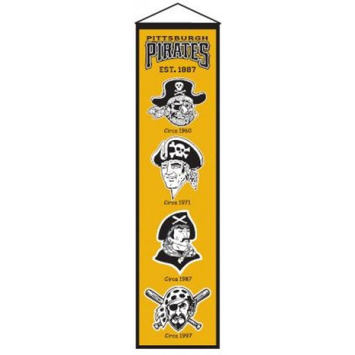 Pittsburgh Pirates MLB Heritage Banner - Dynasty Sports & Framing