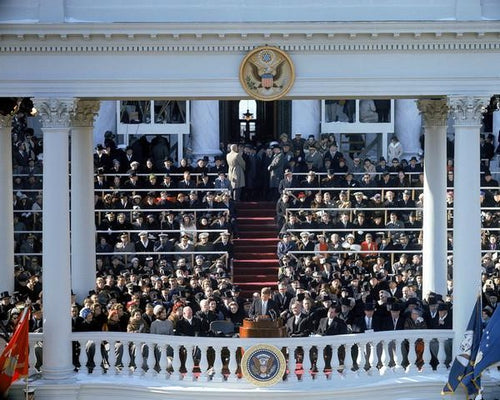 "John F. Kennedy 35th President of the United States Inauguration Day 8"" x 10"" Photo - Dynasty Sports & Framing"