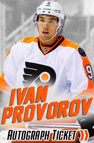 Ivan Provorov Experience Tickets - Dynasty Sports & Framing