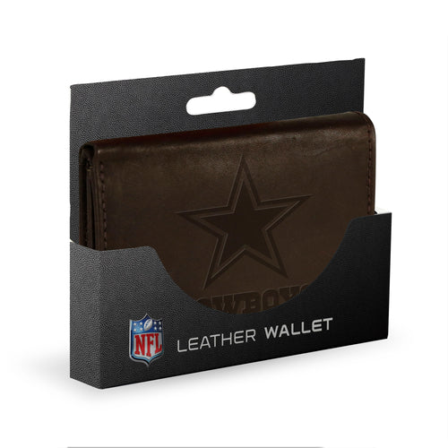 Dallas Cowboys Leather Wallet - Dynasty Sports & Framing