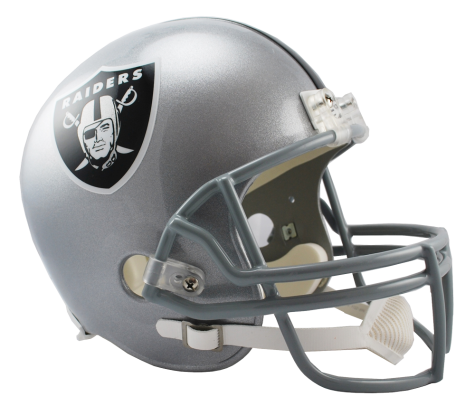 Oakland Raiders NFL Full-Size Helmet Replica