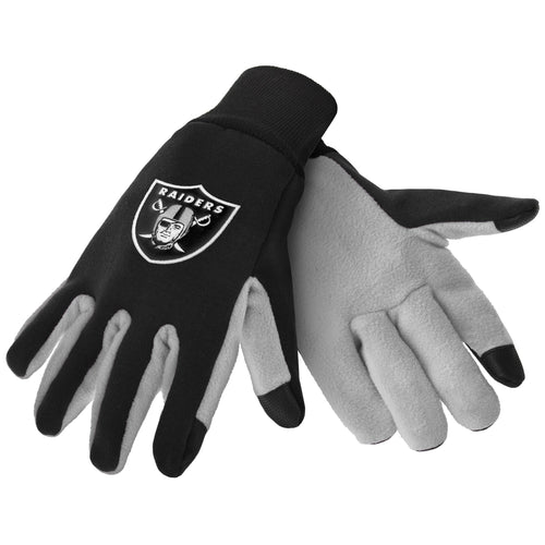 Oakland Raiders NFL Football Texting Gloves - Dynasty Sports & Framing