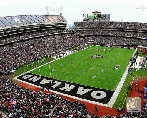 "Oakland Raiders Oakland Alameda Coliseum NFL Football Stadium 8"" x 10"" Photo - Dynasty Sports & Framing"
