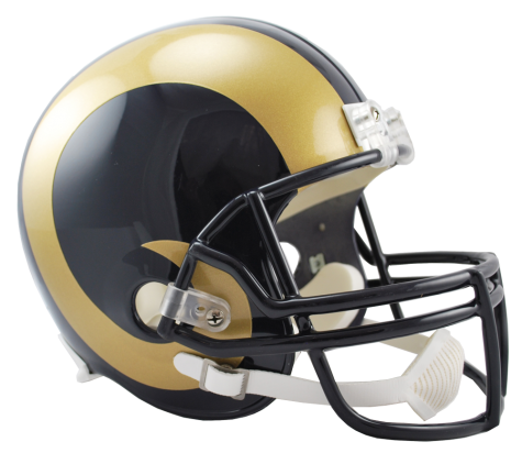 Los Angeles Rams NFL Full-Size Helmet Replica - Dynasty Sports & Framing