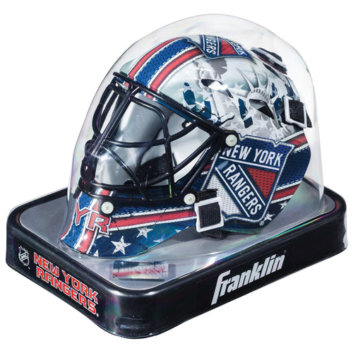 New York Rangers Official Hockey Mini-Goalie Mask - Dynasty Sports & Framing