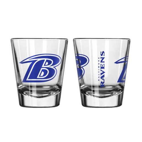 Baltimore Ravens NFL Football Game Day Shot Glass - Dynasty Sports & Framing