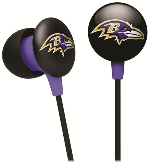 Baltimore Ravens NFL Football iHip Ear Buds - Dynasty Sports & Framing