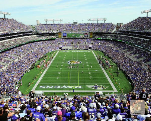 "Baltimore Ravens M&T Bank Stadium NFL Football 8"" x 10"" Photo - Dynasty Sports & Framing"