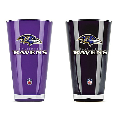 Baltimore Ravens NFL Football 2-Pack Tumbler Cup Set - Dynasty Sports & Framing