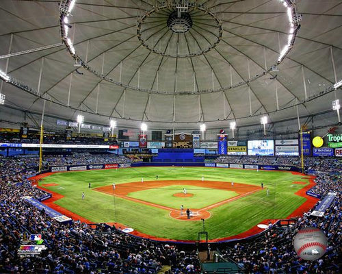 "Tampa Bay Rays Tropicana Field MLB Baseball 8"" x 10"" Stadium Photo"