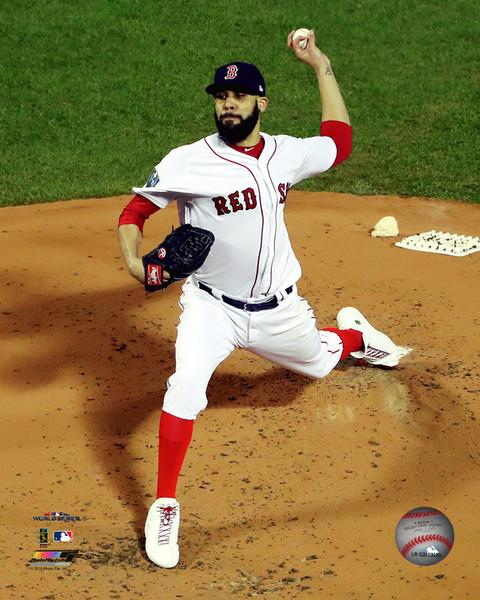 "David Price Boston Red Sox 2018 World Series MLB Baseball 8"" x 10"" Photo - Dynasty Sports & Framing"