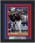 "Boston Red Sox 2018 World Series Steve Pearce Game 5 Home Run MLB Baseball 8"" x 10"" Framed and Matted Photo"