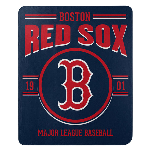 Boston Red Sox Southpaw Fleece Throw Blanket - Dynasty Sports & Framing