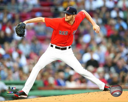 "Chris Sale Boston Red Sox MLB Baseball 8"" x 10"" Photo"