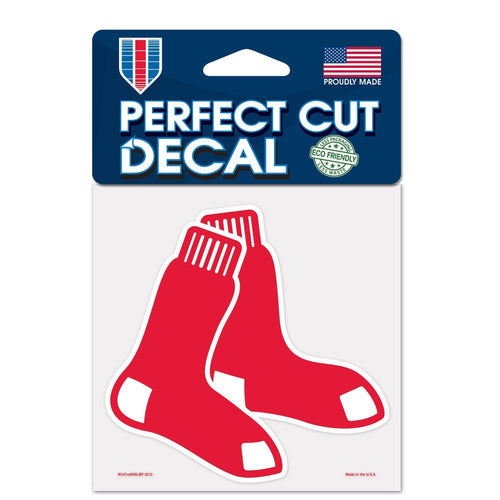 "Boston Red Sox MLB Baseball 4"" x 4"" Decal - Dynasty Sports & Framing"
