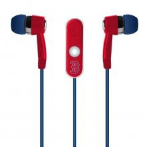 Boston Red Sox MLB Baseball Hands Free Ear Buds with Microphone - Dynasty Sports & Framing