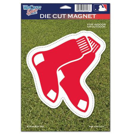 "Boston Red Sox MLB Baseball 8"" Die-Cut Magnet - Dynasty Sports & Framing"