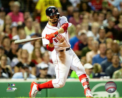 "Boston Red Sox Mookie Betts MLB Baseball 8"" x 10"" Photo"