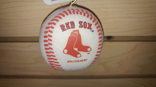 Boston Red Sox Plush Baseball Ornament