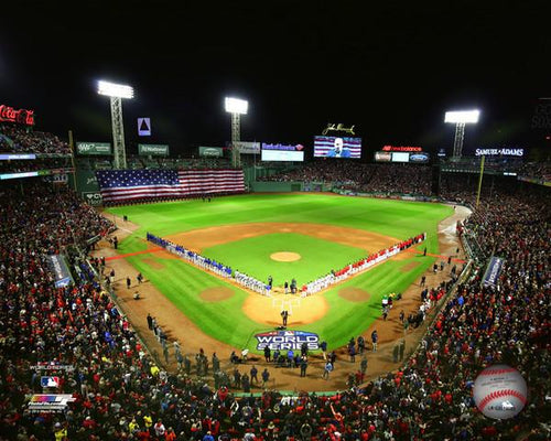 "Boston Red Sox Fenway Park, Game 1 of the 2018 World Series MLB Baseball 8"" x 10"" Stadium Photo"