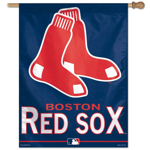 Boston Red Sox MLB Baseball Vertical Flag