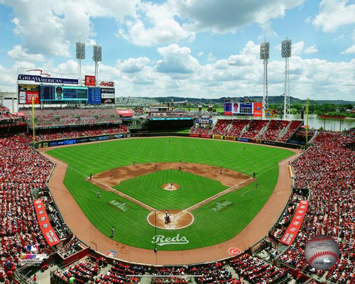 "Cincinnati Reds Great American Ball Park Stadium MLB Baseball 8"" x 10"" Photo"