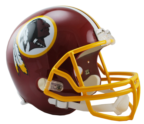 Washington Redskins NFL Full-Size Helmet Replica - Dynasty Sports & Framing