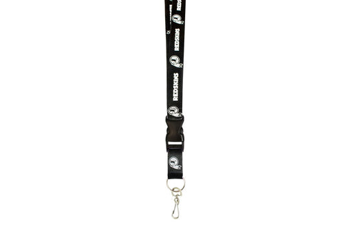 Washington Redskins NFL Football Breakaway Blackout Lanyard - Dynasty Sports & Framing