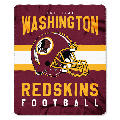 "Washington Redskins NFL Football 50"" x 60"" Singular Fleece Blanket"