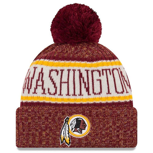 Washington Redskins New Era Sideline Official Sport Knit Hat