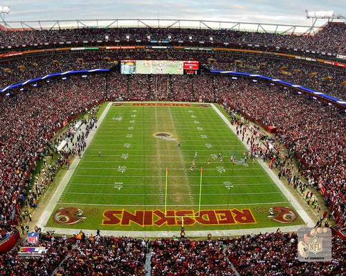 "Washington Redskins FedExField 8"" x 10"" Football Stadium Photo - Dynasty Sports & Framing"