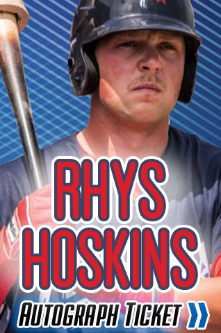 Rhys Hoskins Experience Tickets - Dynasty Sports & Framing