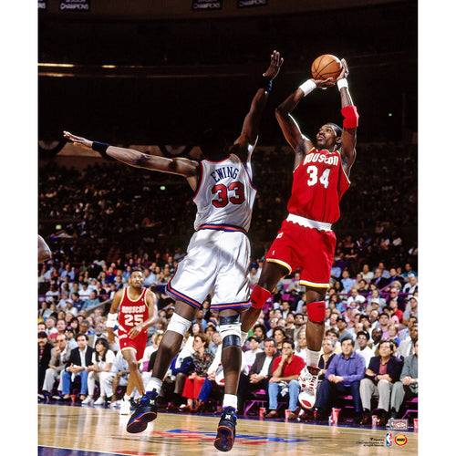 "Hakeem Olajuwon in Action Houston Rockets 8"" x 10"" Basketball Photo - Dynasty Sports & Framing"